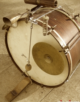 the overhang pedal-father of today's modern bass drum pedals