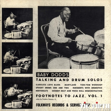 79.jpgNew Orleans drummers like Baby Dodds move north to contribute to this highly influential new style