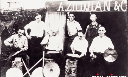 early shot of the Zildjian factory