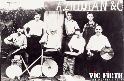 early shot of the Zildjian factory
