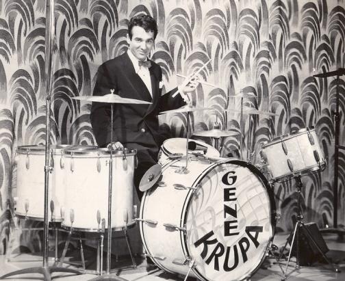 Gene Krupa became the face of swing