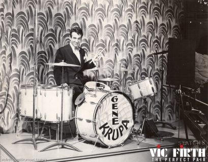 Gene Krupa became the face of swing