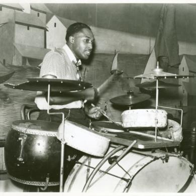 Memphis juke joint drummer1935