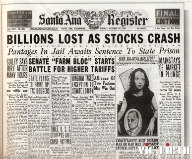 stock market crashes