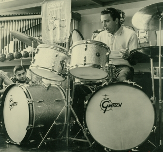 Louie Bellson one of the first drummers two bass drums