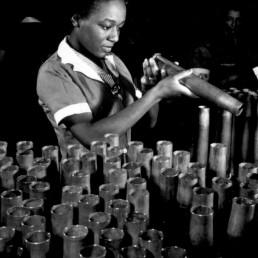 The war effort jumpstarts a new manufacturing era