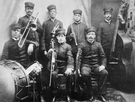 Ο Walter Brundy με την Superior Orchestra, το 1920